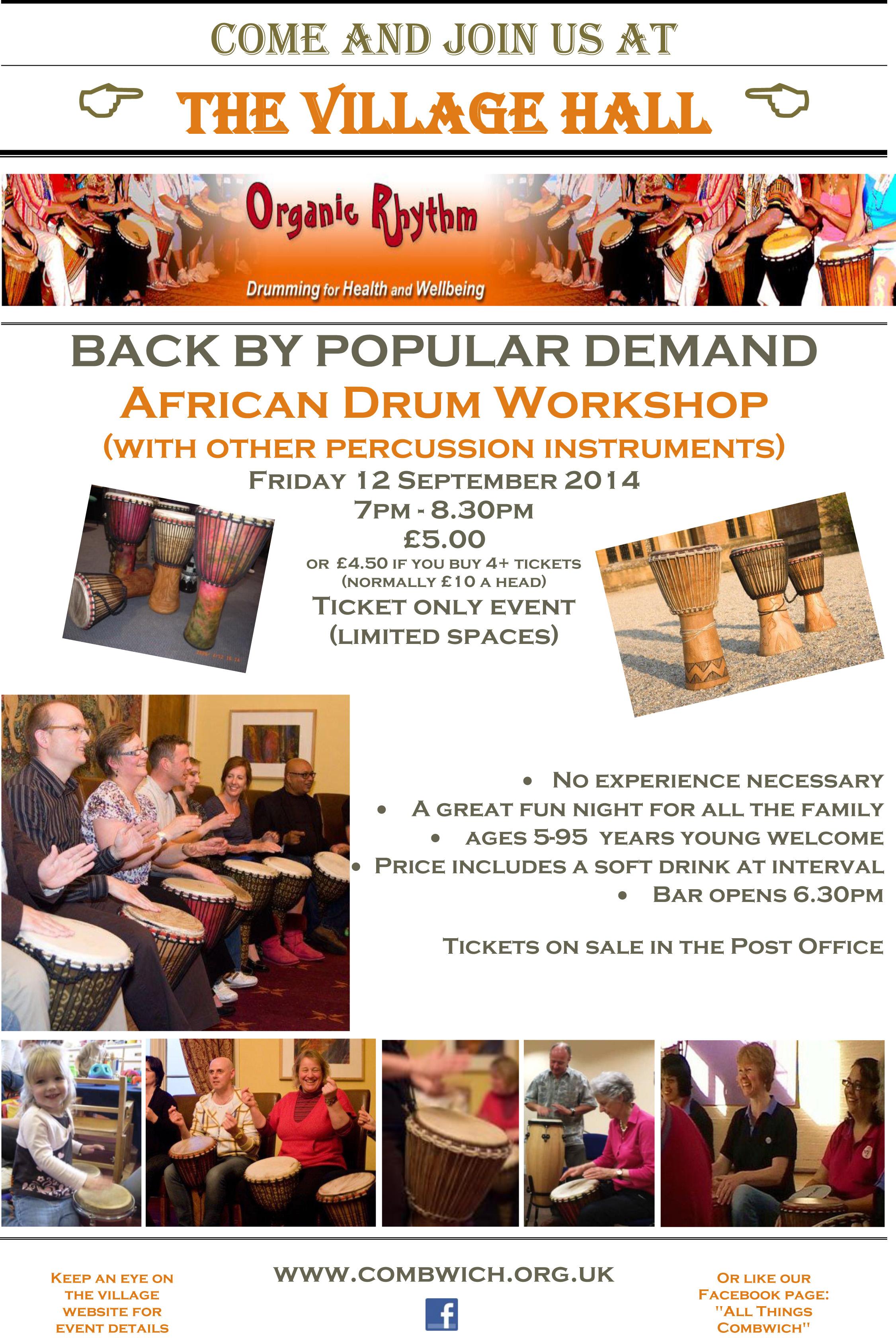 Drum Workshop 2014