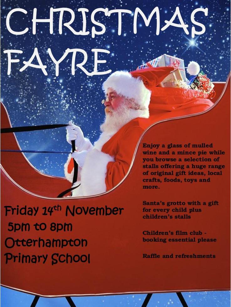 Otterhampton Priomary School Christmas Fayre 2014