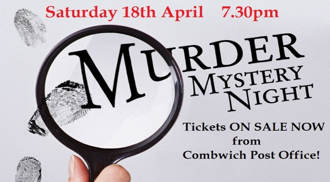 Murder Mystery Night – 18th April