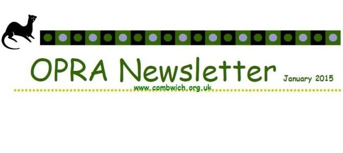 Read the latest OPRA Newsletter