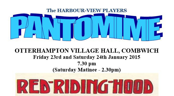 """oh yes it is"" – Don't miss our village panto!!"